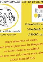 Municipales à Banyuls-sur-Mer. Présentation du programme de «  Banyuls Avenir citoyen »