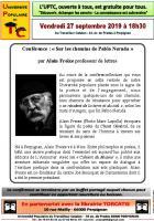 UPTC. « Sur les chemins de Pablo Neruda »