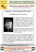 UPTC « Sur les chemins de Pablo Neruda »