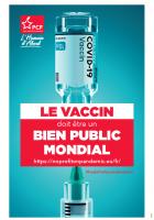 Pas de profit pour la pandémie (tract)