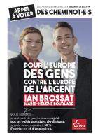Européennes 2019. Appel à voter des cheminot.e.s pour Ian Brossat