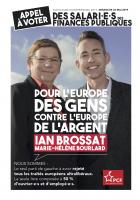 Européennes 2019. Appel à voter des salarié.e.s des Finances publiques pour Ian Brossat