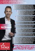 Les salarié.e.s, syndicalistes, militant.e.s des Finances, des banques et des assurances… avec Ian Brossat