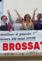 Carton rouge à Macron ! Votez Ian Brochat. Rencontre citoyenne avec Laetitia Maure