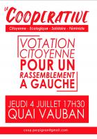 La coopérative de Perpignan. Votation citoyenne pour un rassemblement à gauche