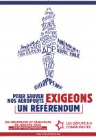 Pour sauver nos aéroports nous exigeons un référendum
