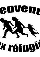 Manifestation. Réfugié.e.s, migrant.e.s, chez nous, c'est chez vous