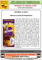 UPTC. « Karl-Marx, le retour »