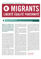Lettre des relations internationales. Spécial migrants (octobre 2017)