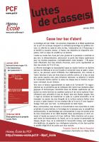 Réseau École du PCF. Luttes de classe(s) (janvier 2018)
