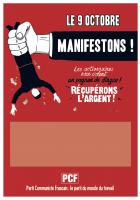 9 octobre. Dans la rue pour riposter à la politique de Macron