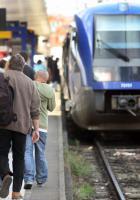 L'avenir du rail. Réunion débat