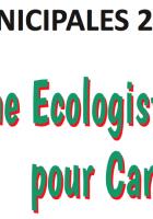 Municipales 2020. Présentation du programme et de la liste « La gauche écologiste et solidaire pour Canet »