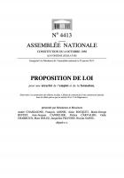 Projet pour une loi de Sécurité de l'Emploi et de la Formation (SEF)