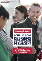 Européennes 2019. Le programme pour l'Europe de gens contre l'Europe de l'argent
