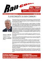 Rail.com. Le bulletin des cheminots communistes (n° de mars 2017)