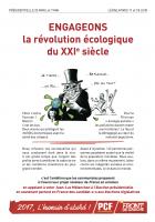 Engageons la révolution écologique du XXIème siècle