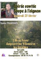 Angoustrine / Villeneuve-les-Escaldes. Soirée contée, soupe à l'oignon