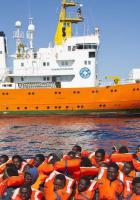 Solidarité avec l'ONG SOS Méditerranée