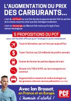 L'augmentation des prix du prix des carburant. 5 propositions du PCF
