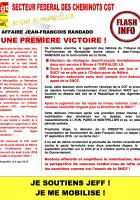 Une première victoire pour les cheminots contre l'abus de pouvoir de la SNCF