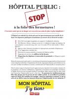 Hôpital public. Stop à la folie des fermetures