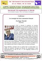 UPTC. Les stratégies du Parti communistes français