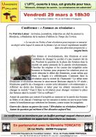 UPTC. « Femmes en révolution »