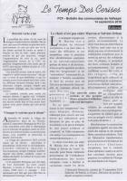 Bulletin des communistes du Vallespir