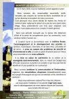 Municipales à Vernet-les-Bains. Première communication