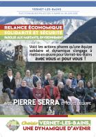 Municipales à Vernet-les-Bains. Programme de la liste menée par Pierre Serra
