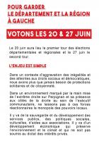 Élections régionales et départementales. Les 20 et 27 juin, votez pour les listes « Occitanie en Commun » et « Département en Commun »