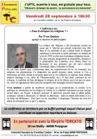 UPTC. «Faut-il critiquer les religions?»