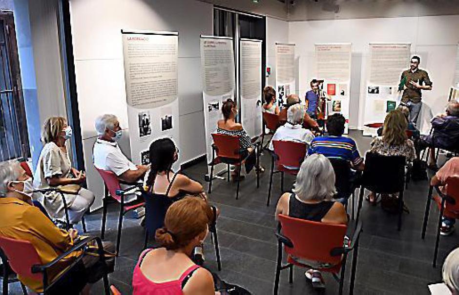 Perpignan. Les mots de Jordi Pere Cerdà résonnent au travers d'une exposition (L'Indep)