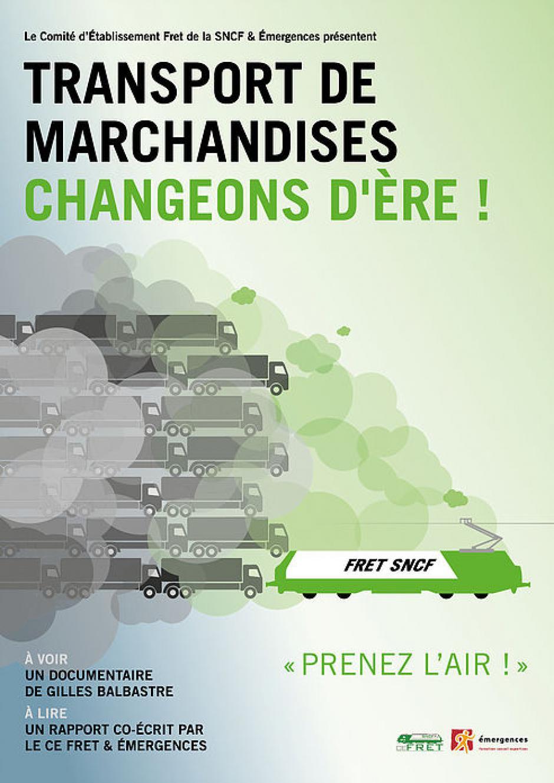 Transport de marchandises. Changeons d'ères !