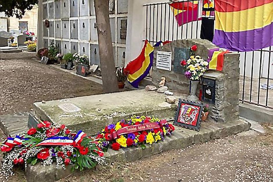 Collioure. Un hommage inédit au poète Antonio Machado (L'Indep)