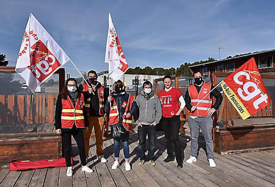 Font-Romeu-Odeillo-Via. Les primo saisonniers ont été reçu par la direction d'Altiservice (L'Indep)