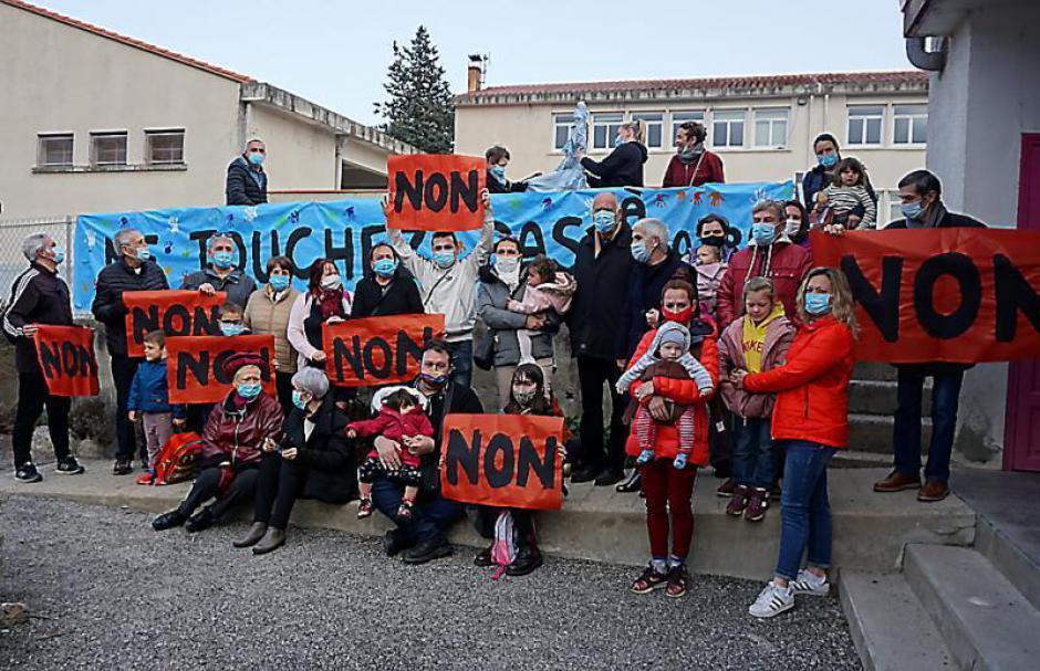 Saint-Laurent-de-Cerdans. Mobilisation contre la suppression d'une classe à l'école primaire (L'Indep)