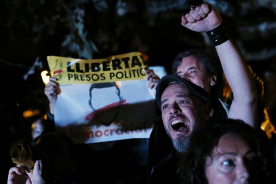 Liberté pour les prisonniers politiques catalans en Espagne