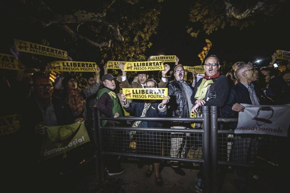 10 prisonnieres et prisonniers politiques catalans au sein de prisons madrilènes