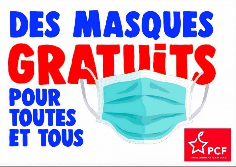 Lettre ouverte à Jean Castex. Des masques gratuits 100% sécu !