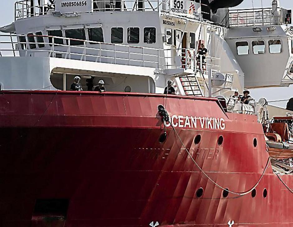 Migrants. Ocean Viking bloqué, Amnesty appelle la France à intervenir