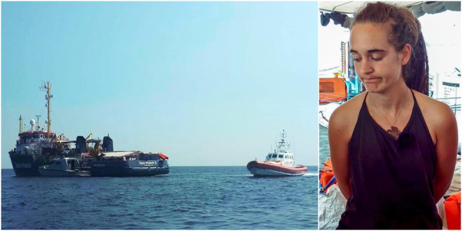 Les communistes soutiennent la capitaine Carola Rackete, héroïne du sauvetage en mer