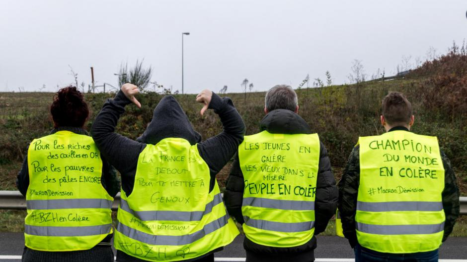 L'intégrale des revendications des gilets jaunes