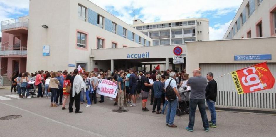 Clinique Saint-Pierre à Perpignan. Communiqué de presse de la CGT