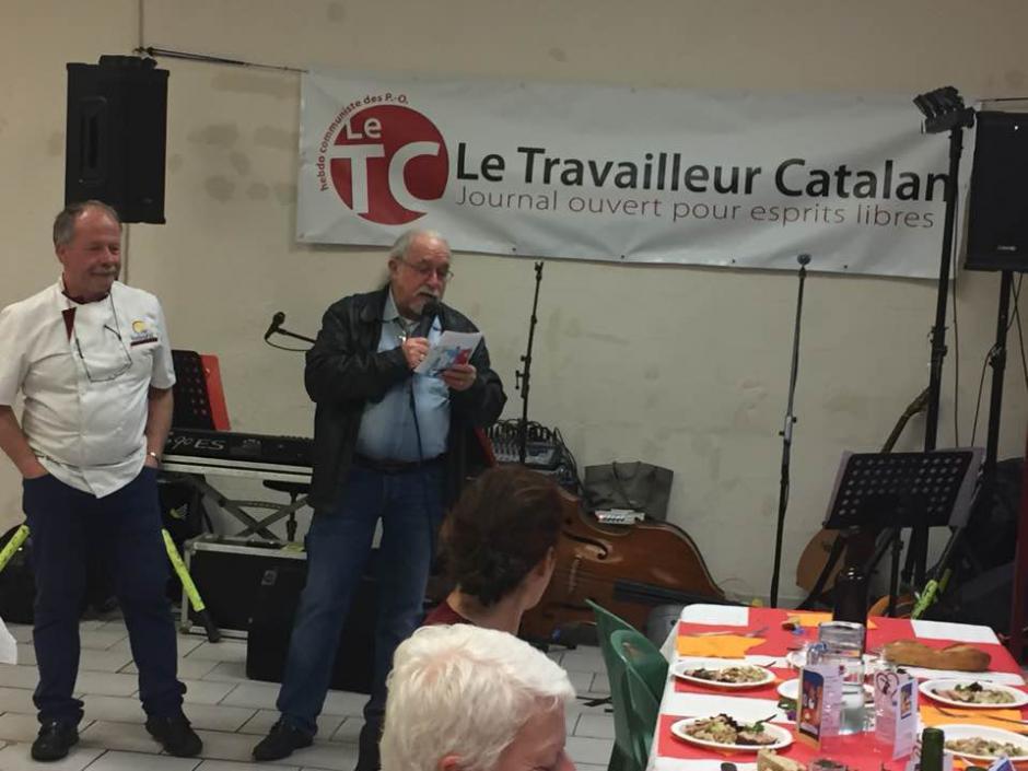 Les lecteurs et Amis du Travailleur Catalan fêtent la nouvelle formule