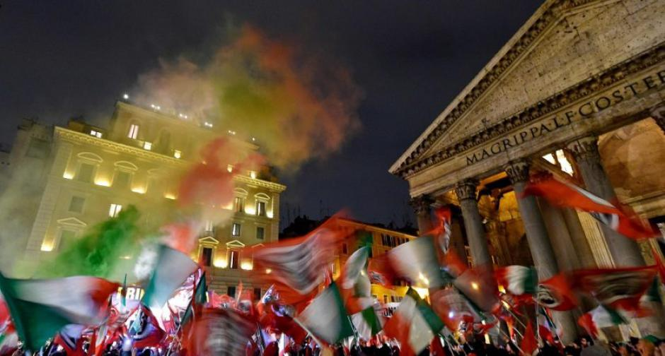 Un coup de pistolet italien dans le concert de l'Euro-libéralisme