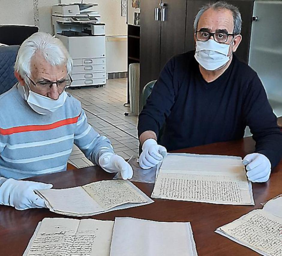 Elne. La ville acquiert des manuscrits du XVIIIe siècle (L'Indep)