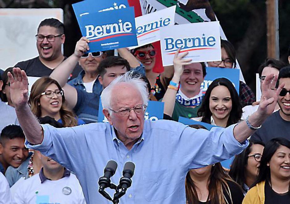 Bernie Sanders conforte son statut de favori