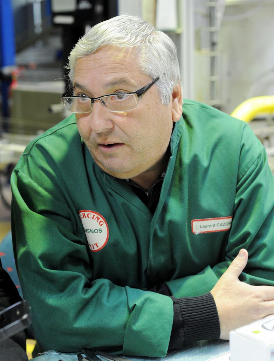 Fraliberthé accueille Gérard Cazorla Président de la SCOP-TI